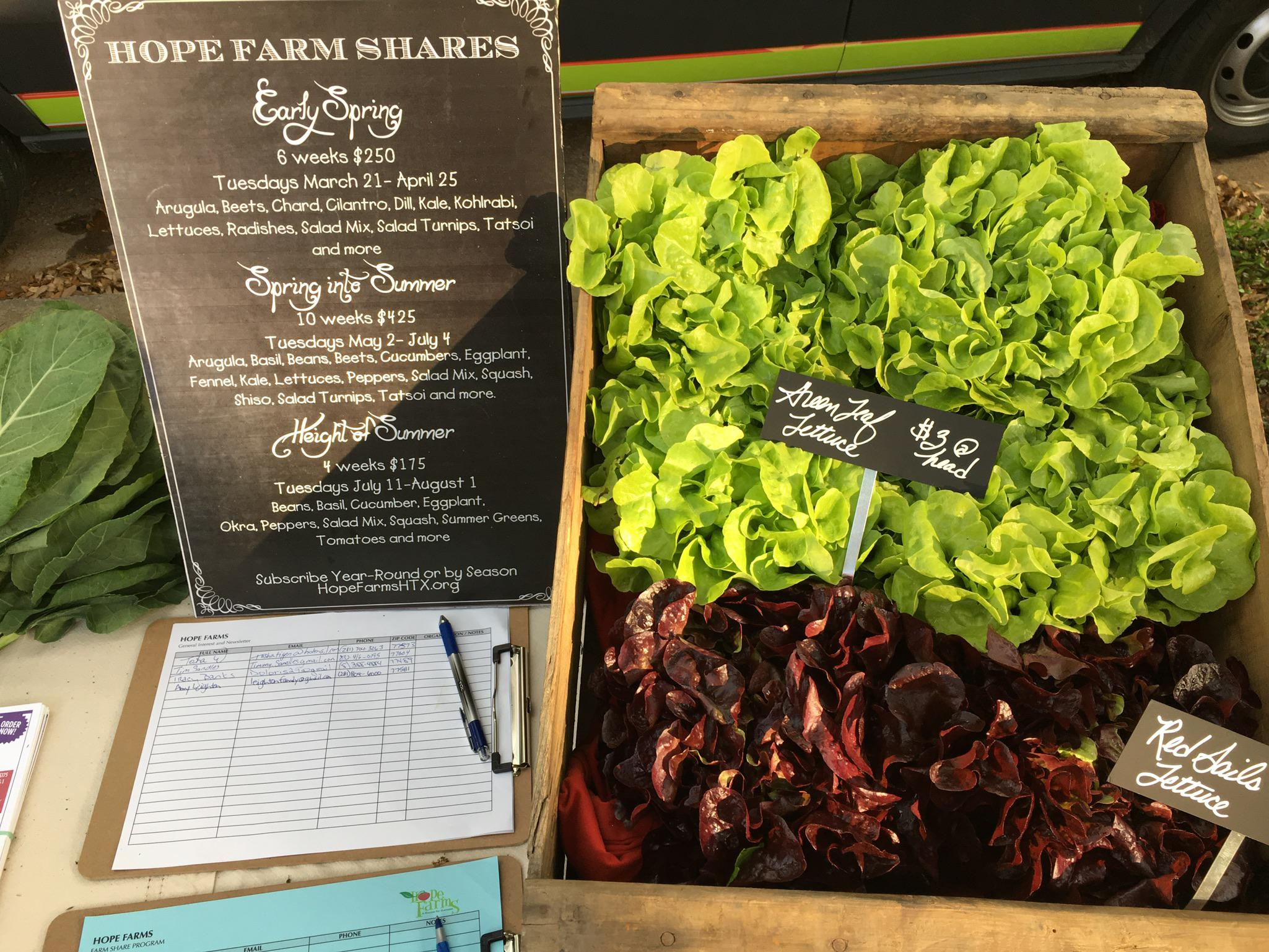 Hope Farms Recipe For Success