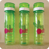 Recipe for Success - VegOut! Water Bottle