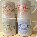 Recipe 4 Success - Blue Plate Mugs