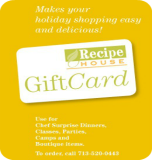 Recipe for Success - RecipeHouse Gift Cards