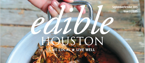 We're in Edible Houston!