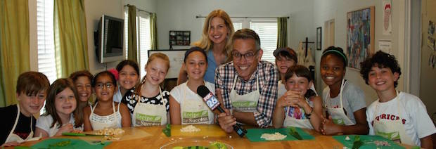 Eat This! Summer Camp on FOX 26 news!