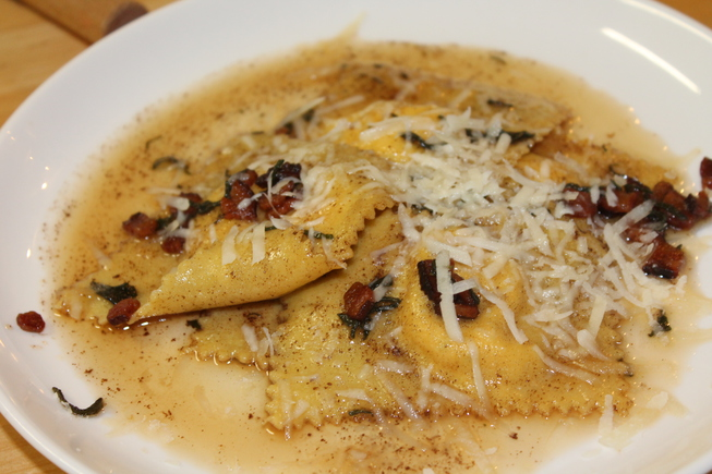 Winter Squash Ravioli_Chef Surprise_February 2013